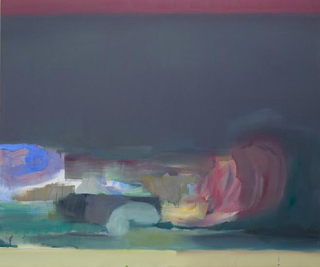 oil on canvas, 240cm x 200cm