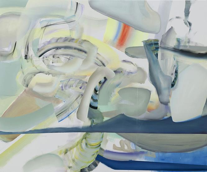 230 cm x 190 cm, oil on canvas