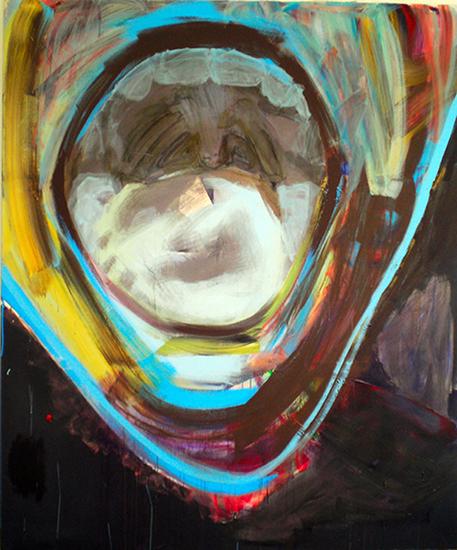 acrylic on canvas, 200cm x 240cm